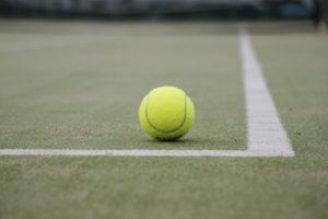 テニスコート,テニスボール