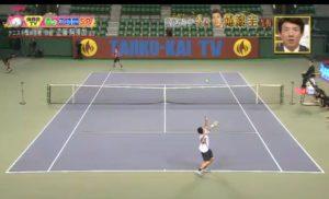 工藤阿須加,テニス,試合