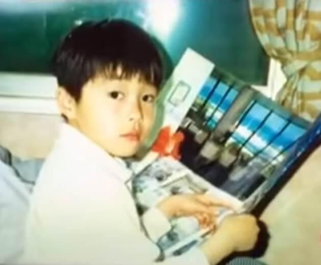 田中圭の子供の頃