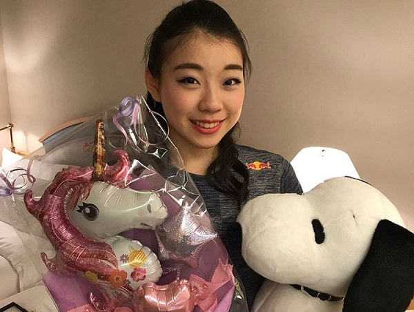 紀平梨花,フィギュアスケート選手
