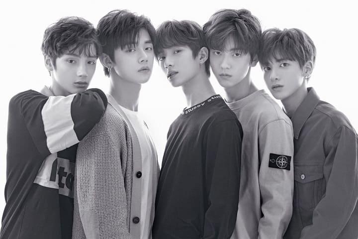韓国のBTS弟分グループTXT