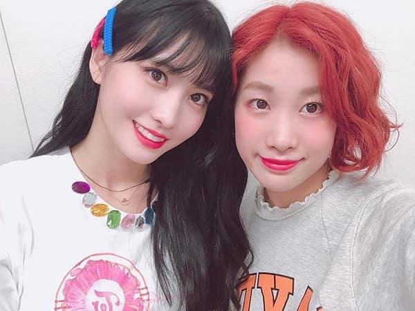 twiceモモと姉のダンサーHANA