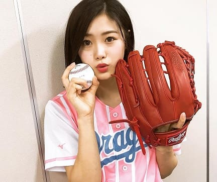 元NGT48で声優の野球好きな長谷川玲奈