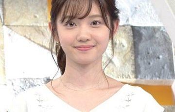 テレビ東京の田中瞳アナ(元ZEROお天気お姉さん)