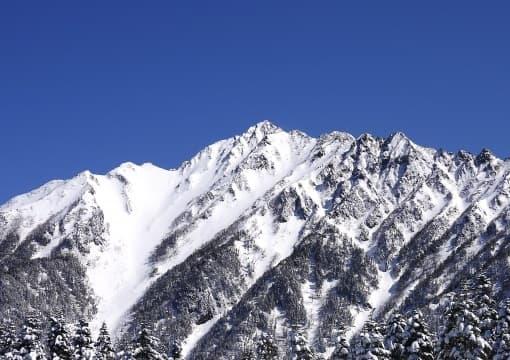 プロスノーボーダーの仕事場の冬山