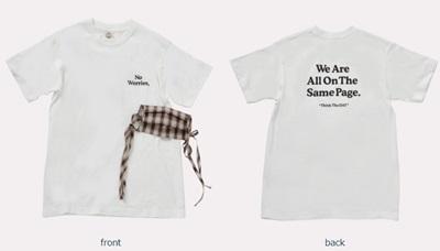 紗栄子のチャリティTシャツとマスク