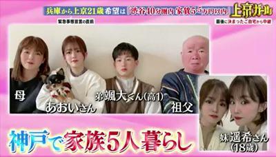 川口葵の家族