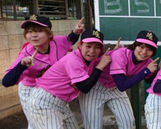 野球をしていたEverybodyのかわなみchoy?のチーム