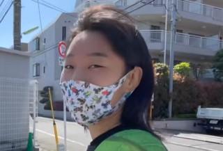 入江聖奈のカエルグッズ(マスク)