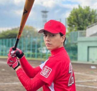 野球少年だった山崎育三郎